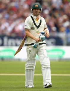 A dejected Michael Clarke walks back, England v Australia, 4th Investec Ashes Test, 2nd day, Chester-le-Street, August 10, 2013.   49-3