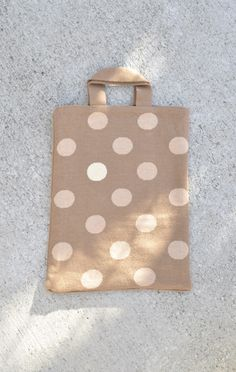 Hansel from Basel Polka Dot Tote