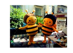 Little Bee Mascot Costumes for Children in Halloween,Halloween Mascot Costumes in 2014,Party Mascot Costumes