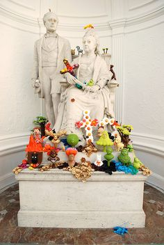 'Discontinued' (Victoria Albert remix), sculptural installation.