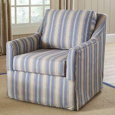 Quincy Swivel Chair | Birch Lane