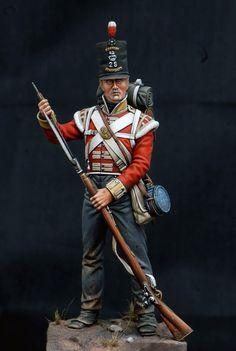 Fuciliere del 28 rgt. fanteria della linea inglese