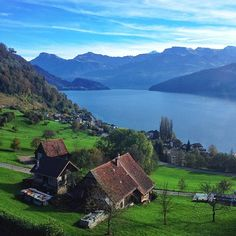 Switzerland.... One day ... I will be there taking the same picture as this one