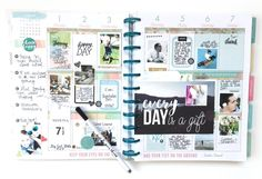memory planning in the BIG 'Stay Golden' Happy Planner™ of mambi Design Team…
