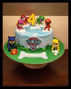 plus d'idées pour une fête Pat'patrouille Wooloo Paw Patrol Party, Paw Patrol Birthday Cake, Paw Patrol Cake, Unique Birthday Cakes, 3rd Birthday Cakes, Beautiful Birthday Cakes, Birthday Celebration, First Birthday Balloons, Festa Pj Masks