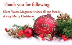Silent Voices Magazine wishes you all a very Merry Christmas