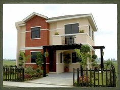 New modern house design philippines home 13 Ideas New Modern House, Modern House Design, Dream House Exterior, Dream House Plans, Dream Houses, Dream Home Design, Home Design Plans, Style At Home, Small Home Builders