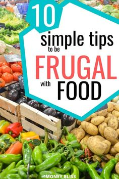 Ready to stretch your groceries budget? Then, learn how to be frugal with food. Meal planning, cooking, stockpile are part of the process. Are you ready for these frugal money saving tips? These saving money hacks will improve your budgeting! Save money on groceries on a weekly and monthly basis. Frugal Living Tips, Frugal Tips, Frugal Meals, Budget Meals, Quick Meals, Groceries Budget, Save Money On Groceries, Saving Tips, Saving Money