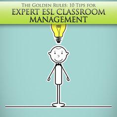 The Golden Rules: 10 Tips for Expert ESL Classroom Management