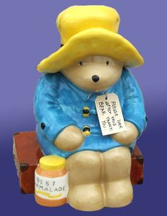 Image detail for -This Is A Treasure Crafts Limited Edition Cookie Jar. Teapot Cookies, Bear Cookies, Biscuit Cookies, Cute Cookies, Biscuits, Kinds Of Cookies, Paddington Bear, Vintage Cookies, Antique Bottles
