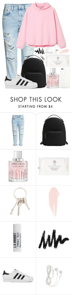 """#28"" by oneandonlyfashion ❤ liked on Polyvore featuring MANGO, Jimmy Choo, Black Apple, Givenchy, NARS Cosmetics, L:A Bruket and adidas"