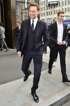 ~~Tom Hiddleston Photos - Tom Hiddleston Leaving The Trump Soho Hotel - Zimbio~~