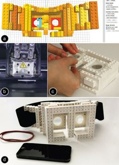 faBrickator - Combines legos and 3D Printing: http://3dprintboard.com/showthread.php?1303-FaBrickator-Combines-Legos-With-3D-Printing