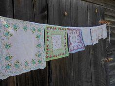 Simply Josephine: Vintage Handkerchief Banner