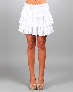 #Modnique.com             #Skirt                    #Belles #Layered #Sheer #Lace #Skirt #Belles #Summer #Dresses #More #Modnique.com                       Des Si Belles Layered Sheer Lace Skirt - Des Si Belles Summer Dresses & More - Modnique.com                                       http://www.seapai.com/product.aspx?PID=766016