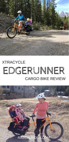 As a parent I recommend the Xtracycle Edgerunner wholeheartedly for your family biking needs. This cargo bike is peppy climbs well and rides like a bike. Mountain Bike Shoes, Mountain Biking, Electric Cargo Bike, Road Bike Women, Bicycle Maintenance, Social Trends, Cool Bike Accessories, Bike Reviews