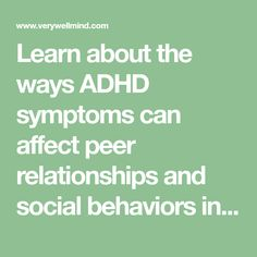adhd behavior social Adult too