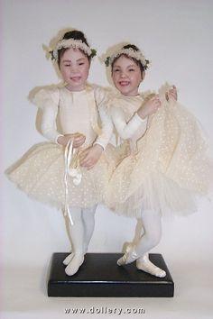 Asian Dancers/Stephanie Cauley dolls