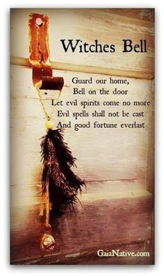 A bell hung on the door wards off evil spirits, and protects the home from evil spells. A bell hung on the door wards off evil spirits, and protects the home from evil spells.