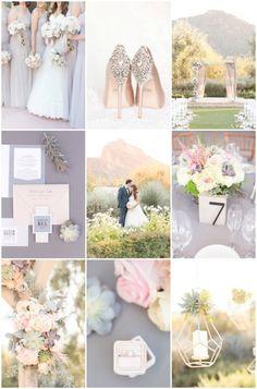 Blush Desert Wedding   Amy & Jordan Photography   Bridal Musings Wedding Blog