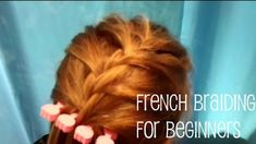 If you're not great at French Braiding (yet) check this out!! Found it while looking for cool stuff to do with my mini's hair!