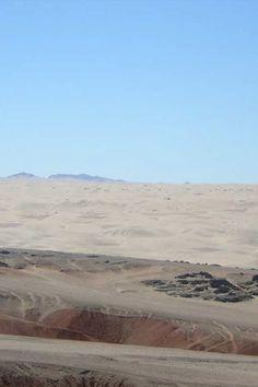 Namib Desert dunes within the National Park of Iona, Angola