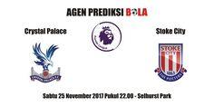 Prediksi Crystal Palace vs Stoke City 25 November 2017