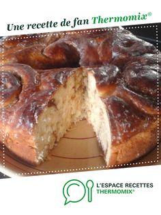 Gâteau chinois façon alsacienne (Schneckekueche) par Gayounette67. Une recette de fan à retrouver dans la catégorie Pâtisseries sucrées sur www.espace-recettes.fr, de Thermomix<sup>®</sup>.