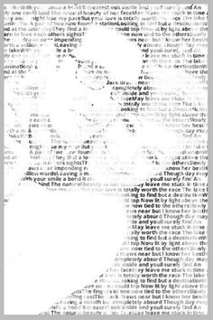 This site takes the words of your favorite songs, quotes, or scriptures and creates a photo of your choice - would be cute to use a wedding photo with lyrics from your first dance! - Click image to find more diy & crafts Pinterest pins