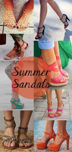 Inspiration: Summer Sandals