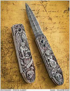 Custom Knife by Stefan Albert