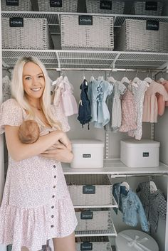 Outstanding baby arrival tips are readily available on our site. look at this and you will not be sorry you did. Baby Closet Organization, Organization Ideas, Organization Station, Storage Ideas, Boys Closet, Entryway Closet, Master Closet, Baby Kids, Baby Boy