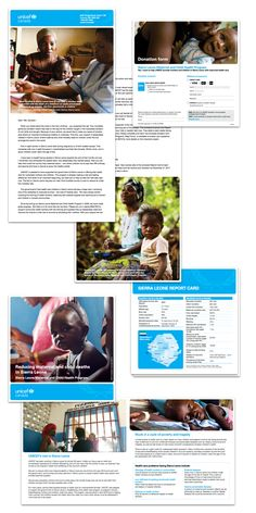 Unicef Canada - Mail Campaigns on Behance