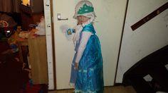 'Elsa' dress for karnaval.