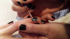 #Zebra #Nails: Grooming for Stardom  #NailArt #nails# #howtovideo #stripes #Khumba www.khumbamovie.com