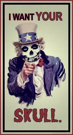 Misfits 'I Want Your Skull'