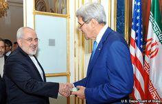 Kerry se reúne con canciller iraní