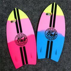 Coque Victoria's secret Pink skateboard/ planche de surf version limited pour iPhone 5 6 6plus sur lelinker.fr