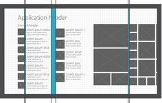 "Windows 8 store app layout specifications - grid, unit, margins, ""app silhouette"""