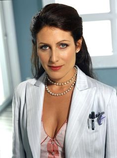 """Lisa Edelstein played """"Lisa Cuddy' on """"House M. Gregory House, Doctor House, Lisa Cuddy, Dr H, Serie Doctor, Omar Epps, Lisa Edelstein, House Md, Lauren Cohan"""