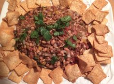 """MysteryLoversKitchen.com Texas """"caviar"""" #recipe from author Elizabeth Lee SNOOP TO NUTS + book giveaway. Go to blog to leave a comment!"""
