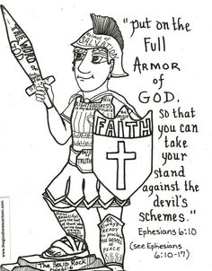 armor of god coloring pages bible printables coloring pages for