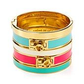 kate spade new york Idiom & Turnlock Bangles