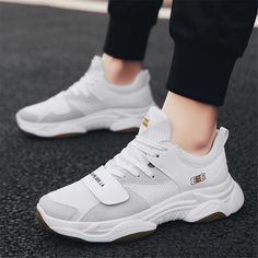 8c7e35ab8bd Men's fashion casual wild breathable sneakers