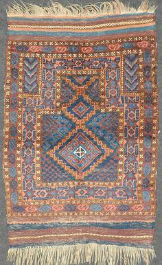 Fine baluchi prayer rug