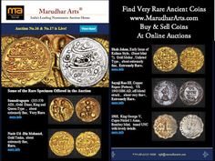 Marudhar Arts®: Find Rare Ancient Coins At Marudhar Arts Auctions....