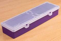 Storage Box 2 Compartment - 2 compartments to hold all of your essential Maker goods - Violet