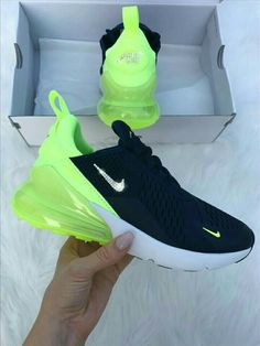 SIZE 6 Swarovski Nike Air Max 270 Shoes Blinged Out With Swarovski Crystals Bling Nike Shoes Navy - Tiere aus Handabdrücke. - Best Shoes World Bling Nike Shoes, Cute Nike Shoes, Nike Air Shoes, Nike Sneakers, Women's Shoes, Sneakers Fashion, Me Too Shoes, Shoe Boots, Neon Shoes