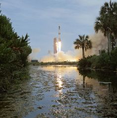 Skylab 1 is launched from Kennedy Space Center by NASA: 2Explore