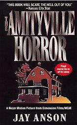 Although it was a hoax, the book is still a fun read if you're into haunted houses. This one is about the Lutz family who bought the house after the murders and fled only a few weeks later, claiming the house was haunted. The Amityville murders will always be an obsession of mine and who knows..maybe some of it was a little true..